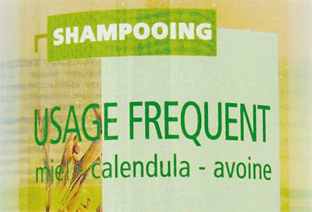 Shampooing - usage fréquent